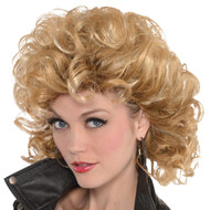 Ladies 1950s Bad Girl Fancy Dress Wig
