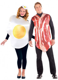 Couples Breakfast Fancy Dress Costumes