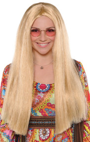 Ladies Blonde Hippy Wig