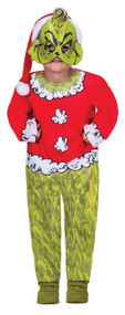 Childs The Grinch Fancy Dress Costume