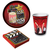 Movie Night Complete Tableware Set