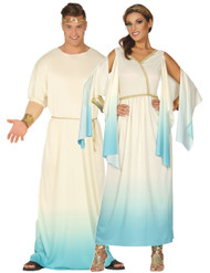 Couples Greek Fancy Dress Costume