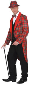 Mens Scottish Tartan Fancy Dress Tailcoat