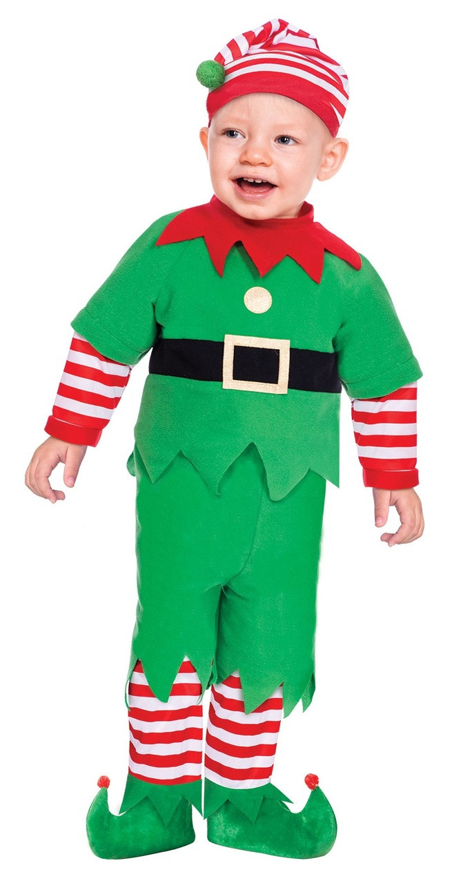 2dc9c87e3754 Baby   Childs Elf Fancy Dress Costume - Fancy Me Limited