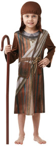 Child's Nativity Shepherd Fancy Dress Costume