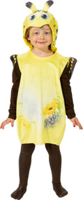 Toddler Yellow Butterfly Fancy Dress Costume