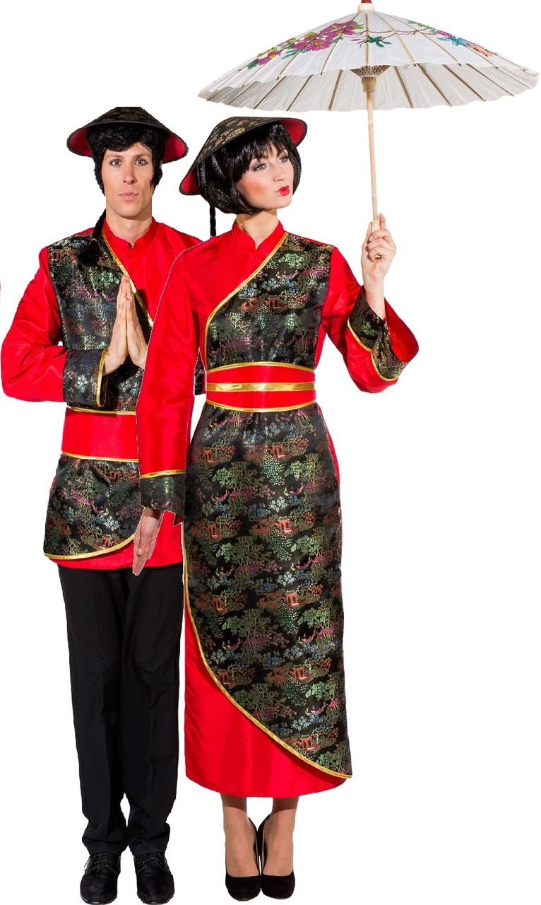 c5eeb7b9f Couples Traditional Chinese Fancy Dress Costume. Previous. Image 1