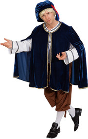 Mens Deluxe Renaissance Fancy Dress Costume