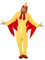 Mens Chicken Fancy Dress Costume 1