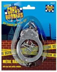 Metal Handcuffs Fancy Dress Accessory