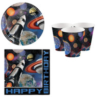Space Party Tableware Set