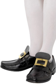 Historical Shoe Buckles Fancy Dress Accessory