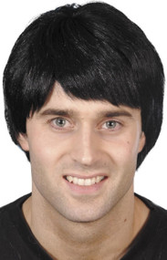 Mens 90's Pop Star Fancy Dress Wig