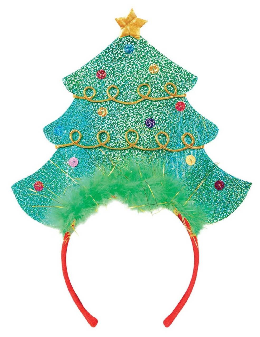 a9690307 Ladies Festive Christmas Tree Hairband - Fancy Me Limited
