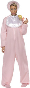 Adults Big Pink Baby Fancy Dress Costume