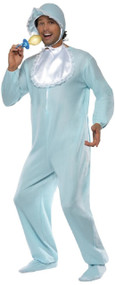 Adults Big Blue Baby Fancy Dress Costume