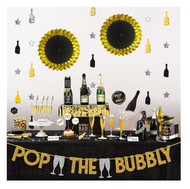 Deluxe Champagne Bar Decorating Kit