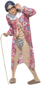 Adults Naughty Nanna Fancy Dress Costume