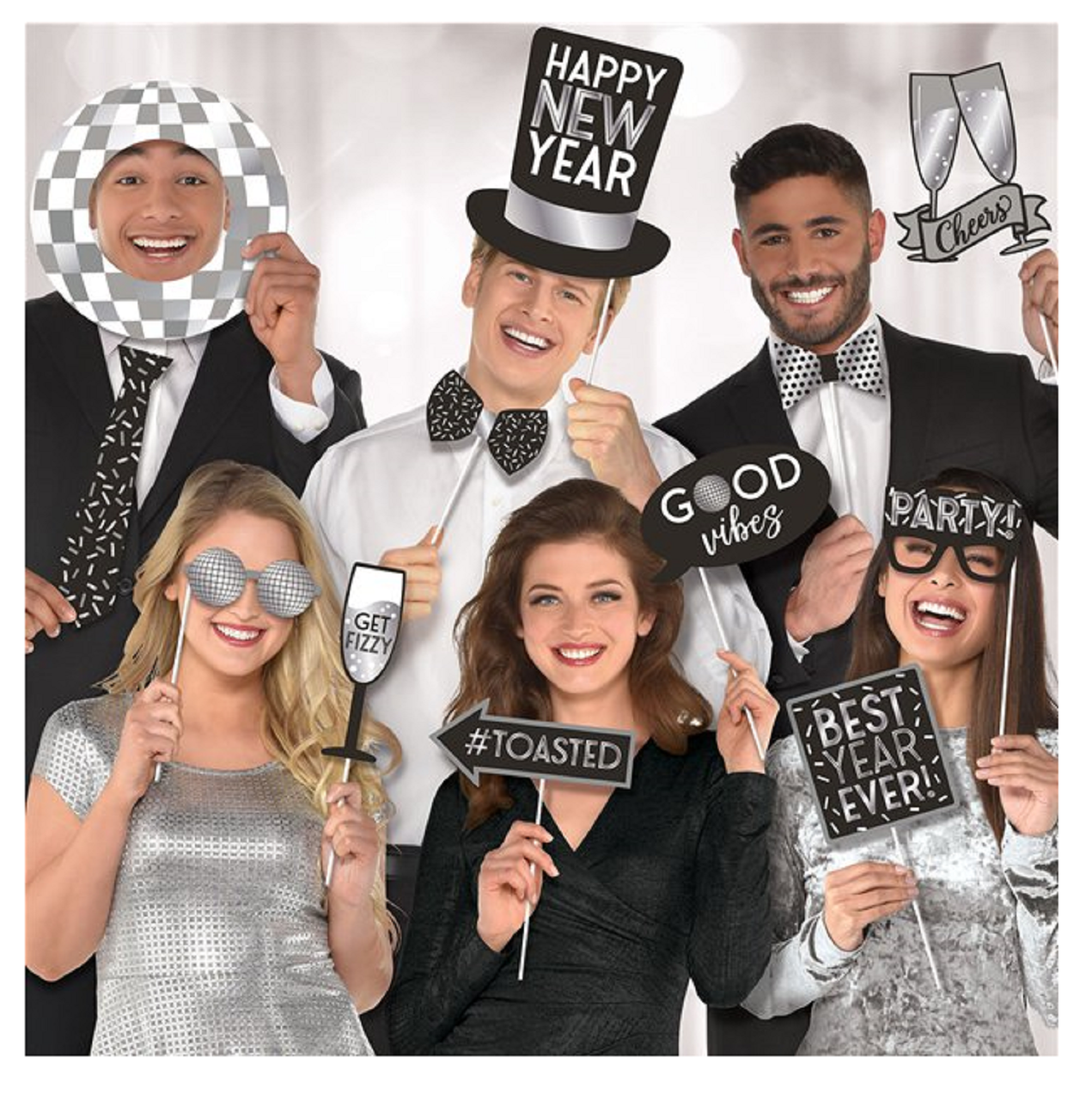 New Years Eve Photo Booth Props Fancy Me Limited