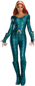 Ladies Deluxe Mera Fancy Dress Costume