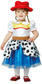 Baby Girls Jessie Cowgirl Fancy Dress Costume