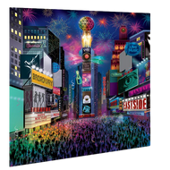 NYC New Year's Eve Celebration wall Hanging Back Drop