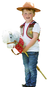Child's Cowboy And Horse Fancy Dress Costume