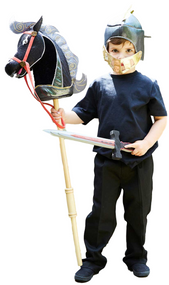 Boys Noble Knight And Steed Fancy Dress Kit