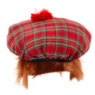 Adults Tam o'Shanter Scottish Hat