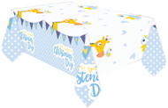 Baby Boys Christening Tablecover