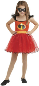 Girls Violet Incredible Fancy Dress Costume