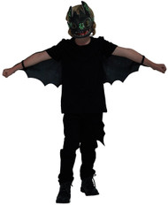 Boys Toothless Fancy Dress Costume Kit