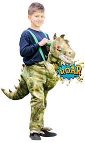 Child's Ride on Dinosaur Fancy Dress Costume