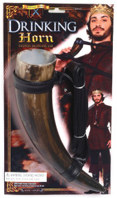 Medieval Drinking Horn Fancy Dress Accessory
