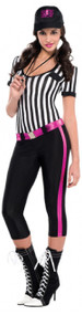 Ladies Match Referee Fancy Dress Costume