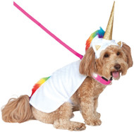 Dog Light Up Unicorn Fancy Dress Costume