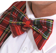 Adults Scottish Tartan Bow Tie Accessorie