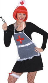 Ladies 4 Piece Nurse Fancy Dress Kit