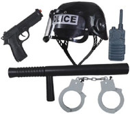 Childrens 5 Piece Police Fancy dress
