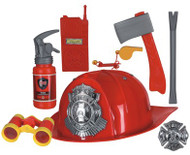 Child Firefighter 8 Piece Fancy Dress Set