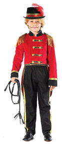 Boys Prestige Ringmaster Fancy Dress Costume