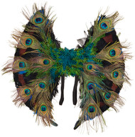 Adults Peacock Feather Wings