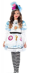 Girls Prestige Alice Fancy Dress Costume