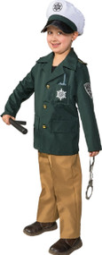 Boys German Police Officer Fancy Dress Costume
