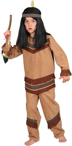 Boys Classic American Indian Fancy Dress Costume