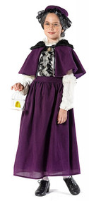 Girls Deluxe Grandma Fancy Dress Costume