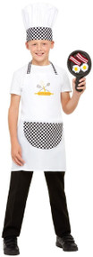 Child's Breakfast Chef Fancy Dress Costume Kit