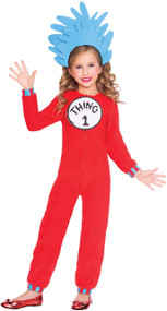 Child's Thing 1 Or 2 Fancy Dress Costume