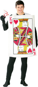 Mens King Of Hearts Fancy Dress Costume