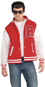 Mens 1950s Letterman Fancy Dress Jacket